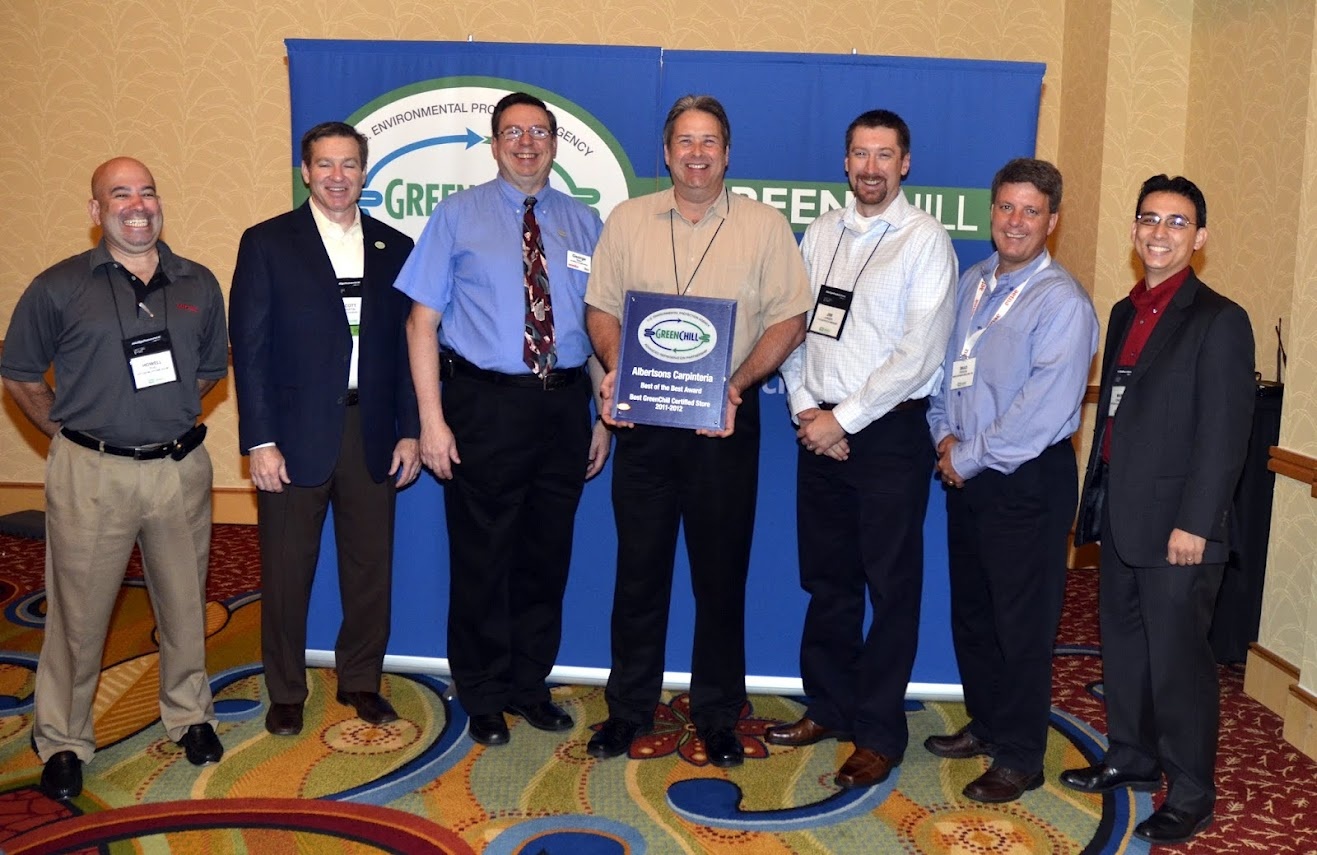 SUPERVALU and Hillphoenix are honored for building the best GreenChill-certified store this year in Carpinteria, CA