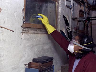 Cleaning with Personal Protective Equipment (PPE)