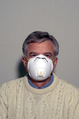 N-95 disposable respirator.