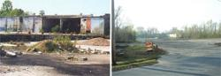 Former Malter Plant Before and After