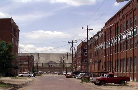 Bricktown, Oklahoma City, Oklahoma, Before Revitalization