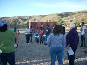 Community members participate in technical assistance training at the Pacific Coast Pipeline