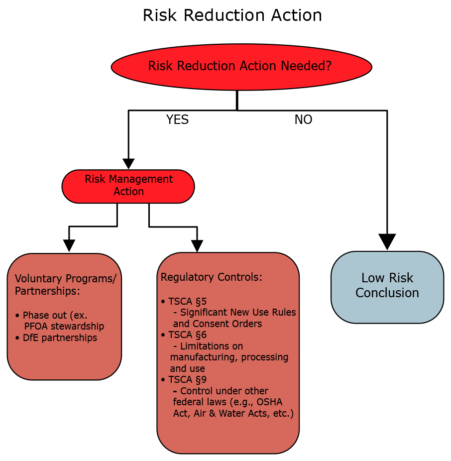 Risk reduction process