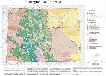 Level III and IV Ecoregions of Colorado