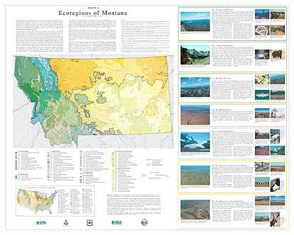 Level IV Ecoregions of Montana-- poster 1 front side