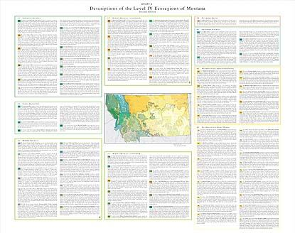 Level IV Ecoregions of Montana--poster 2 front side