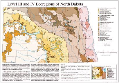 Level III and IV Ecoregions of North Dakota