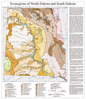 Level III and IV Ecoregions of North Dakota and South Dakota