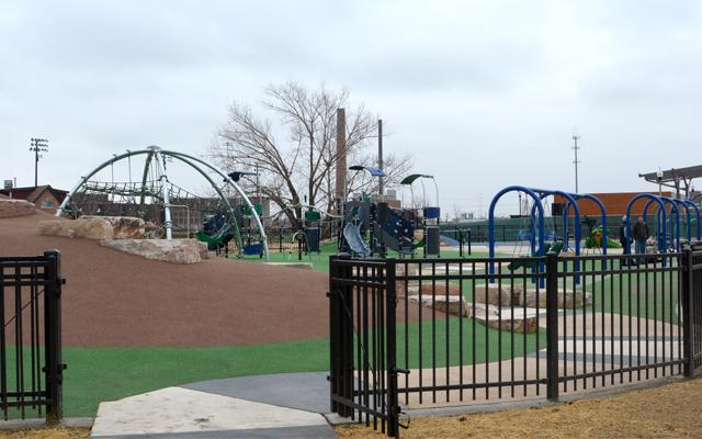 Image of LaVillita Park playground in Chicago