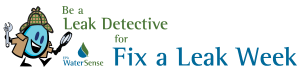 Fix a leak detective logo