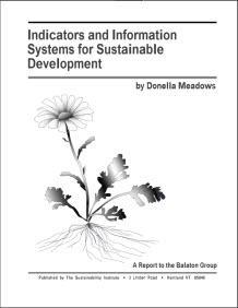 This is the cover of the Indicators and Information Systems for Sustainable Development