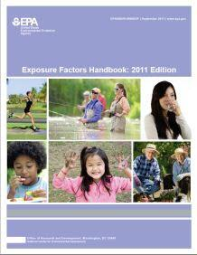 Cover of the 2011 Edition of the EPA Exposure Factors Handbook.