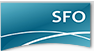 This is a photo of the San Francisco Airport Logo