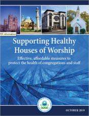 cover of the Healthy Houses of Worship document