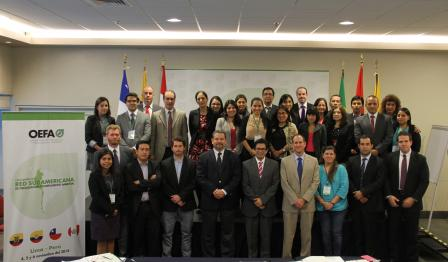 2nd annual meeting of South American environmental enforcement network