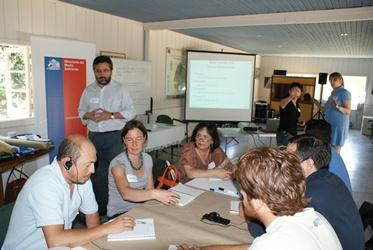 Chilean environmental education workshop in 2013