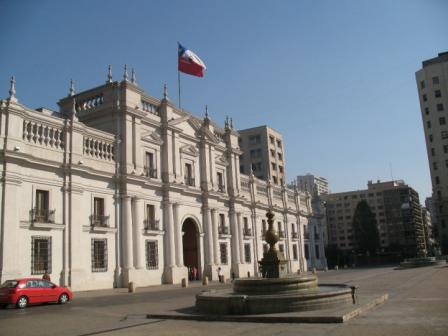Chilean Presidential Palace