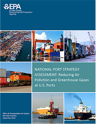 national port strategy assessment report cover photo