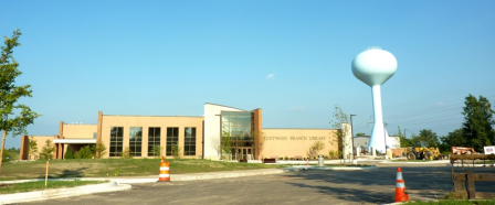A view of the Kentwood (Richard L. Root) Branch Library