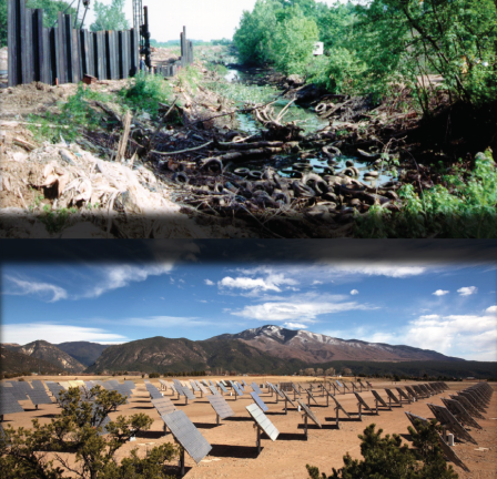 Before and after at Superfund sites