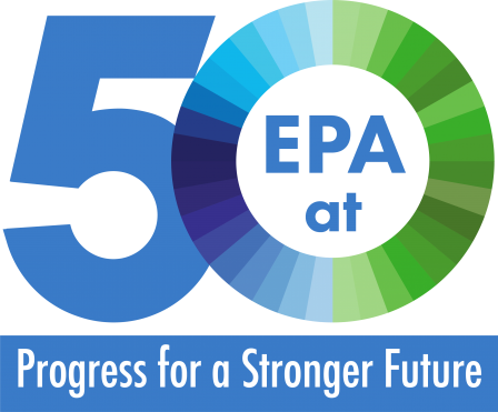 image of EPA at 50 logo