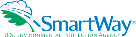 Logo for USEPA SmartWay with text under image