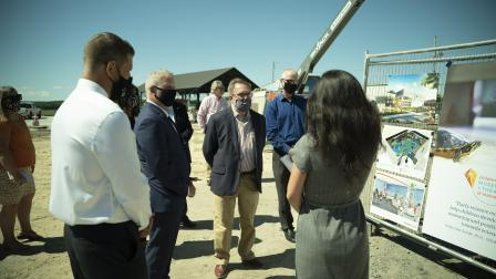 Administrator Wheeler tours Thompsons Point Brownfields site.