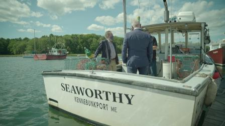 EPA Administrator speaks with lobstermen in Kennebunkport, Maine