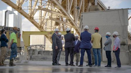 Administrator Wheeler tours the Frank Bryan Concrete Factory in Pittsburgh