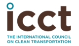 Logo for The International Council on Clean Transportation (ICCT)