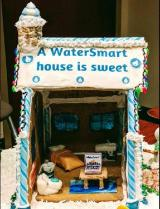 Athens-Clarke's gingerbread house contest submission