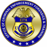 Official Seal for the Office of Criminal Enforcement, Forensics and Training