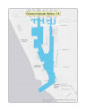 Map of Channel Islands Harbor no-discharge zone
