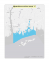 Map of Mystic River and Pine Island no-discharge zone