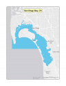 Map of San Diego Bay no-discharge zone