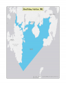 Map of Boothbay Harbor no-discharge zone