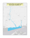 Map of Connecticut River and coastal waters, CT no-discharge zone