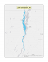 Map of no-discharge zone established for Lake Champlain, NY