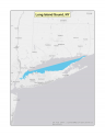 Map of no-discharge zone established for the Long Island Sound, NY