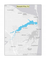 Map of no-discharge zone established for Navesink River, NJ