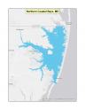 Map of Northern Coastal Bays, MD no-discharge zone
