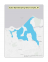 Map of no-discharge zone established for Oyster Bay-Cold Spring Harbor Complex, NY