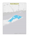 Map of no-discharge zone established for the Peconic Estuary, NY