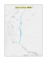 Map of Saint Croix River no-discharge zone