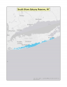 Map of no-discharge zone established for the South Shore Estuary Reserve, NY
