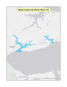 Thumbnail map of Sarah Creek and Perrin River, VA vessel sewage no-discharge zone